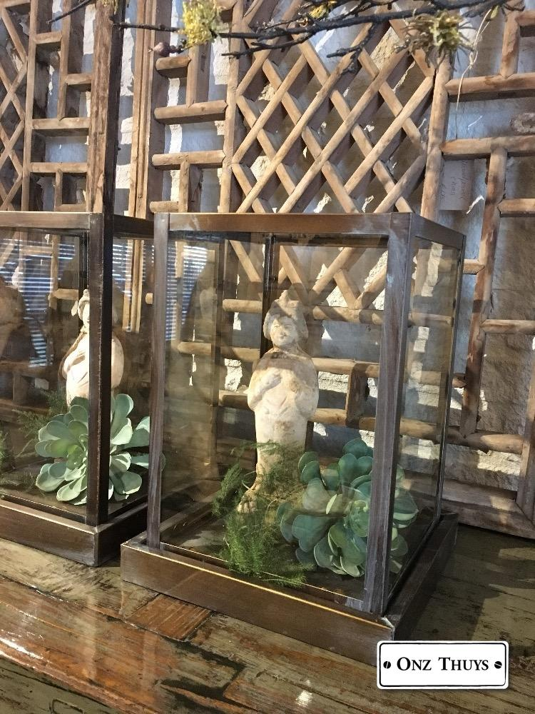 Spiksplinternieuw glazen stolp vierkant - Woonaccessoires - Onz Thuys YT-73