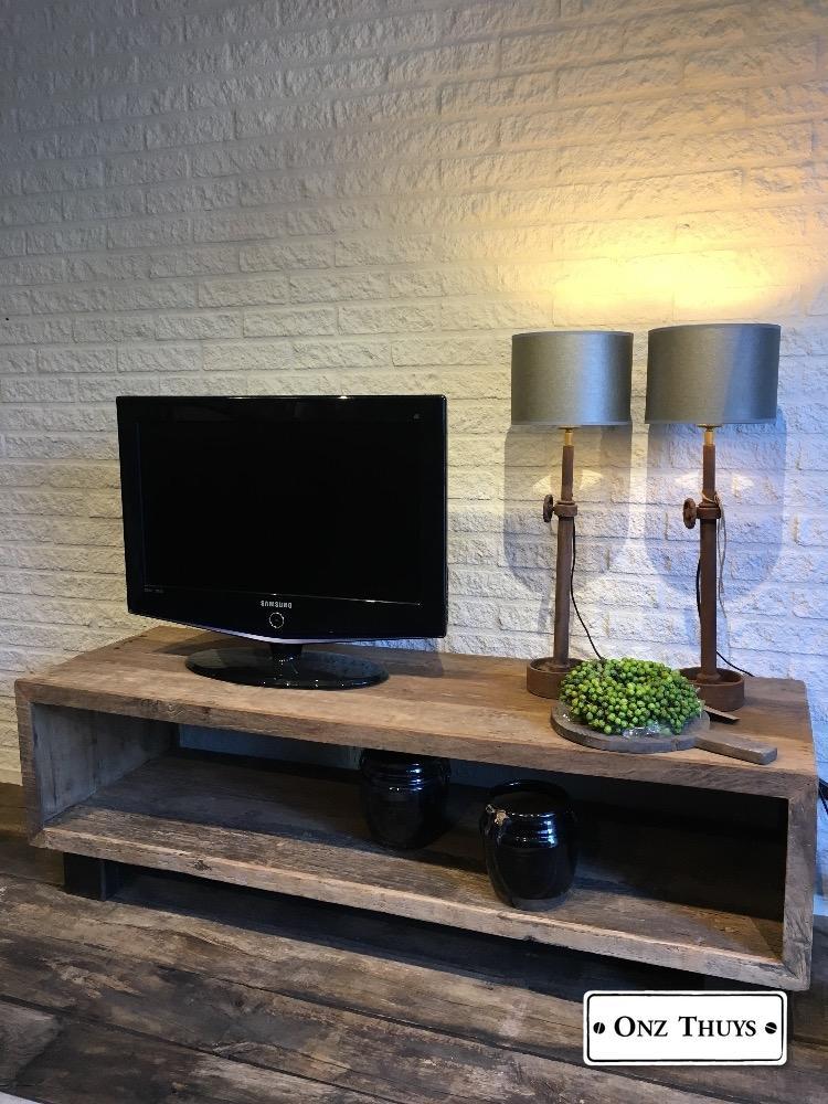 Tv Kast Oud Hout Openvak